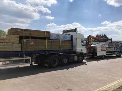 Timber Delivery Laker BFS
