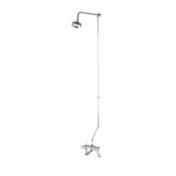 Traditional Rigid Riser Kit for Bath Shower Mixer