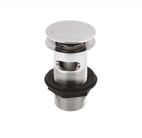 Stainless Steel Push Button Basin Waste