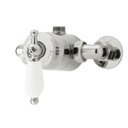 Edwardian Sequential Exposed Thermostatic Shower Valve
