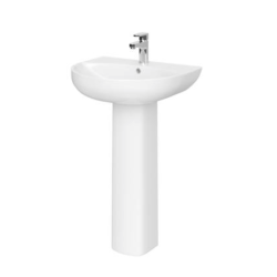 550mm Basin & Pedestal