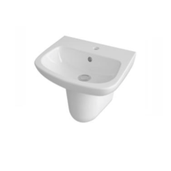 450mm Basin & Semi Pedestal