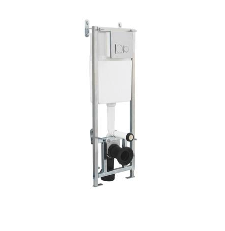 Dual Flush Concealed WC Cistern With Wall Hung Frame