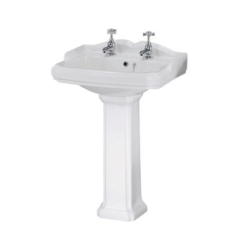 580mm Basin & Pedestal
