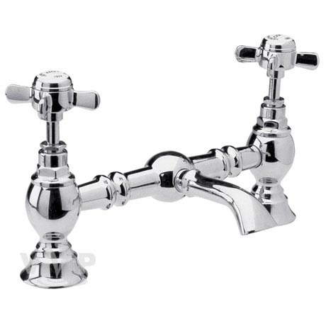 Beaumont Traditional Luxury Bridge Basin Mixer