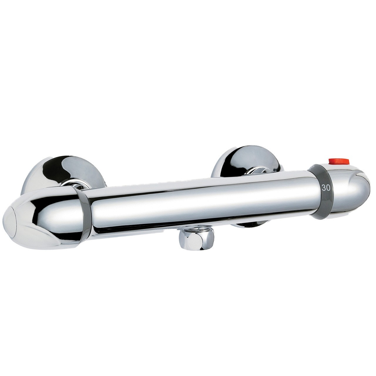 Round Thermostatic Bar Valve
