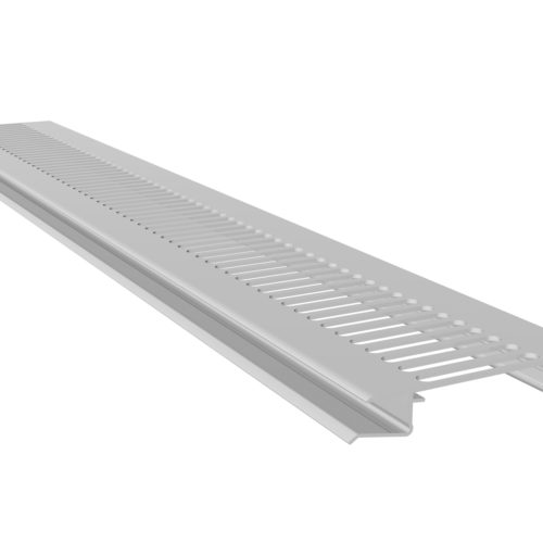 Vented Soffit White UPVC