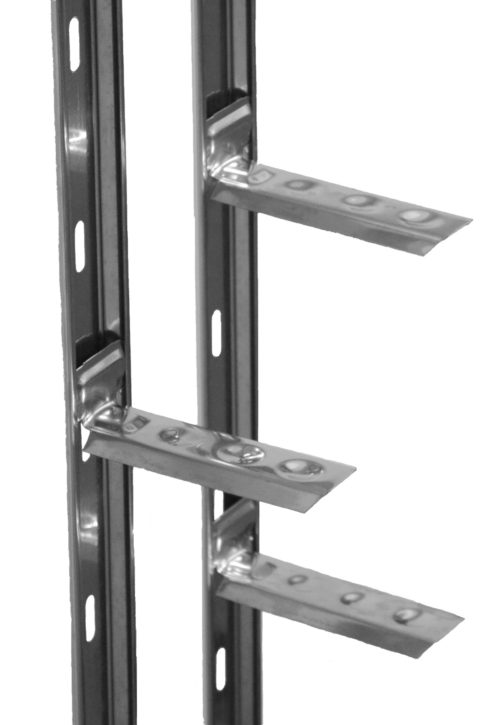 Wall Starter Plate Stainless Steel