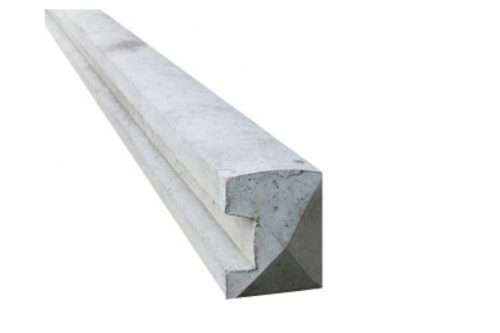 2.4m Concrete Slotted End Post