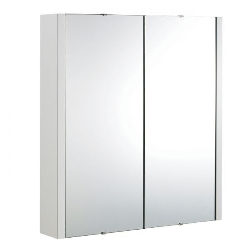 Eden Wall Hung 2 Door Mirror Cabinet